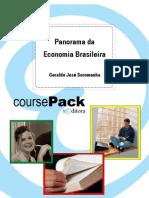 Panorama Da Economia Brasileira - Geraldo José Soromenha