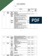 Planul Calendaristic II