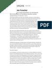 Hirnforschung NS & Enthemmte Forscher
