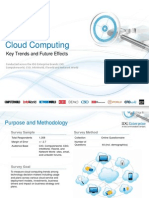 IDG Enterprise Cloud Research 2013 (excerpt)