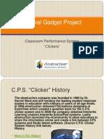 gadget report powerpoint