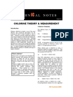 Chlorine Theory & Measurement