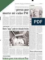 2004.02.10 - Acidentes Graves Viram Rotina Em Minas - Estado de Minas