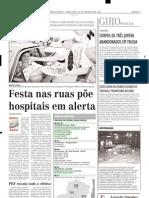 2004.02.20 - Problemas Nas Estradas Federais Mineiras - Estado de Minas