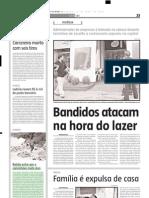2004.04.17 - Batida entre van e caminhões mata dois - Estado de Minas
