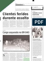 2004.04.26 - Motorista de caminhão que transportava côco é internado em estado grave - Estado de Minas
