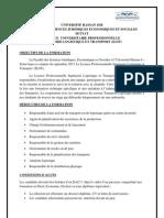 LICENCE PROFESSIONNELLE INGÉNIERIE LOGISTIQUE ET TRANSPORT (ILOT)