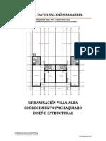 Diseño estructural Puerto Lopez