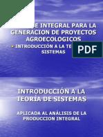 Tema 3 Vision Integral y Relacional de La Agroecologia