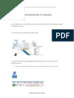 CONFIGURACIÓN IP CAMARA (1)