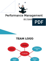 Performance Management for Fusion