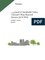 Appraisal of JnNURM Final Report Volume II
