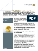 In GOLD We TRUST 2013 - Incrementum Extended Version