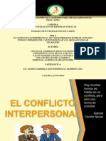Conflicto Interpersonal