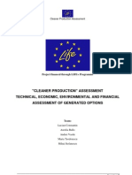 Cleaner Production Assessment