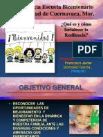 Conferencia Escuela Bicentenario Resiliencia