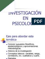 Investigacion en la psicologia segun Godoy-Ge Georgi