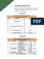 PLANTEAMIENTO  ARQUITECTONICO