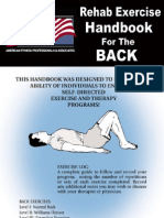 Back Exercise Handbook