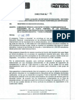 Directiva 1 de 2013