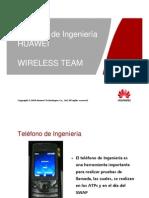 Manual Del Telefono de Ingenieria HUAWEI
