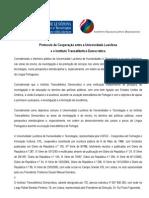 Protocolo entre ITD e ULHT