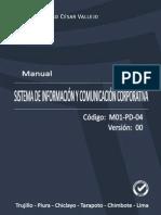 MANUAL DEL SISTEMA DE INFORMACIÓN Y COMUNICACIÓN.