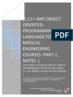 C,C++ language for bio-medical engineering courses.pdf