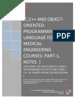 C,C++ language for bio-medical engineering courses.pdf