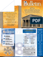 The Official Bulletin 2013 Q2 / No. 640