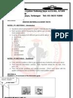Pmr English Language Module 1 Paper 1