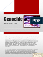 Genocide- Bosnia