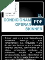 El Condicionamiento Operante de Skinner