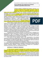 Gimeno Sacristán, José (2001) Los materiales y las condiciones de enseñanza