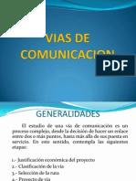 Unidad i Vias de Comunicacion