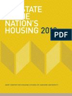 Harvard University Study on the State of Nations Housing 2013