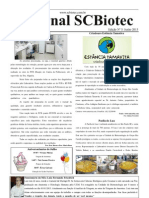 Jornal SCBiotec - Junho 2013