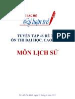 ChiaSeTaiLieu.Net - Bộ 46 đề thi đai học khối c môn lịch sử