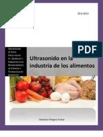 106951118 Ultrasonido en La Industria de Alimentos