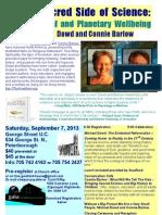 Sept 7 Flyer for Scribed