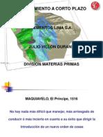 Planeamiento a Corto Plazo Cementos Lima 2002