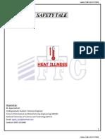 Safety Talk-Heat Illness