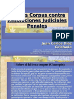 Habeas Corpus Contra Resolucion Judicial
