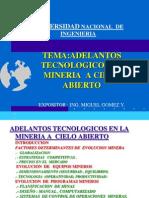 Adelantos Tecnologicos en Mineria a Cielo Abierto 2002
