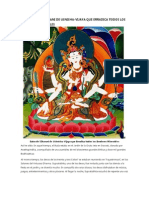 El Sutra Del Dharani de Usnisha-Vijaya Que Erradica Todos Los Senderos Miserables