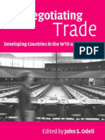 Negotiating Trade