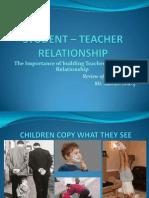 119048367 Students Teacher Relationship