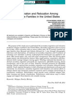 Secondary Migration and Relocation Among African Refugee Families in the United States