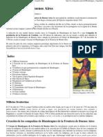 Blandengues de Buenos Aires - Wikipedia, La Enciclopedia Libre