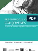 2011 Manual Previniendo la Violencia con Jóvenes EME CulturaSalud SENAME[1]
